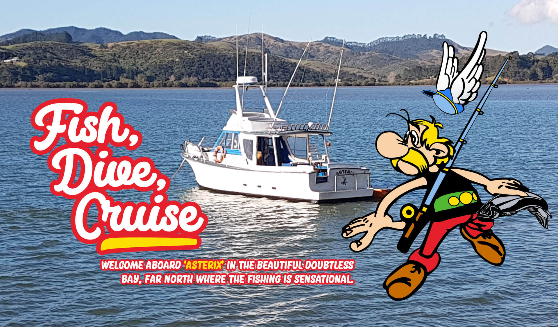 Doubtless Bay Charters, Fishing Charter in Doubtless Bay, Far North, Northland.